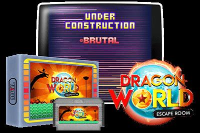 portada cartucho famicom dragon world